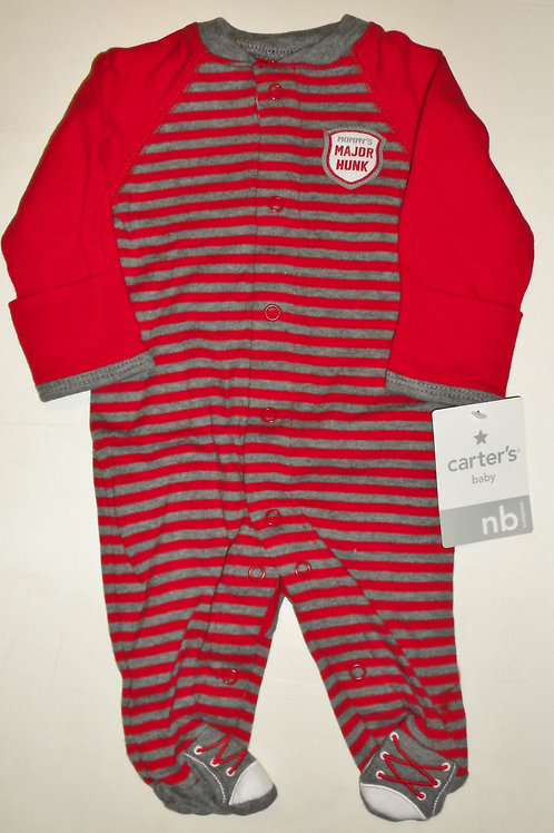 Carters red/gray size N