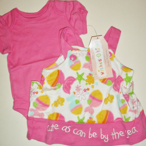 Wishes N Kisses set pink size N