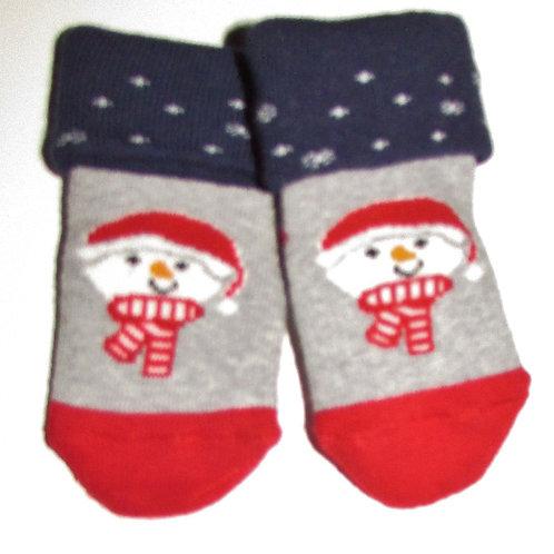 H & M cuffed socks Xmas size N