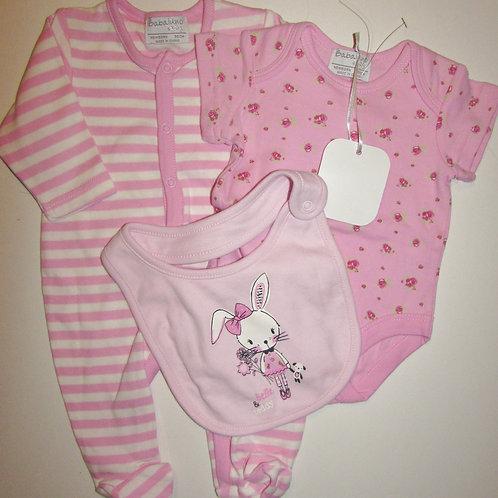 Babaluna pink/white size N