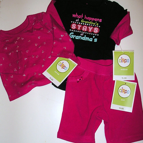 Circo pink/black size N