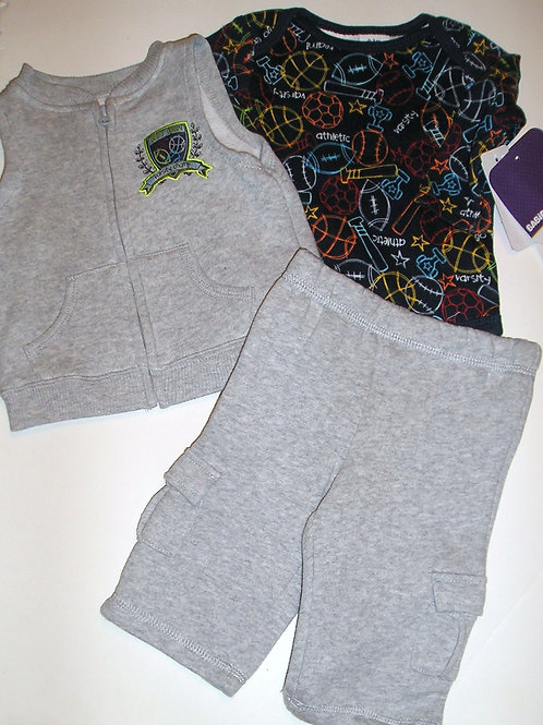 Babies R Us gray/navy size 0-3 mo