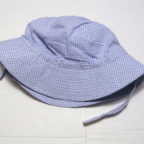 Bon Bebe sunhat blue/checked 0-6 months