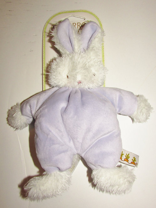 Bunnies by the Bay plush rattle/bunny choose color