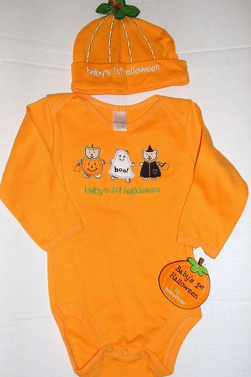 Baby Gear set orange size 3-6 mo