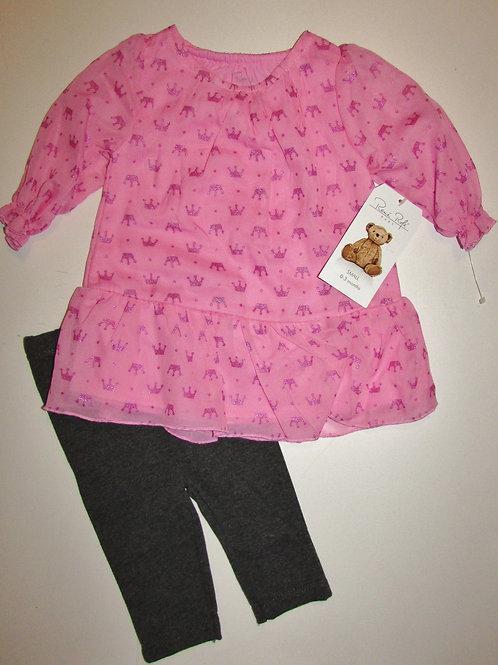 Remi Rafe pink/gray size 0-3