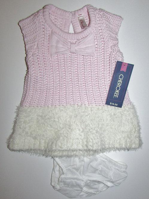 Cherokke pink/white size N
