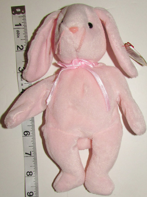 Ty plush Beanie Baby pink bunny 8 inches