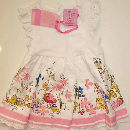 Cutey Couture dress size 6-12 mo