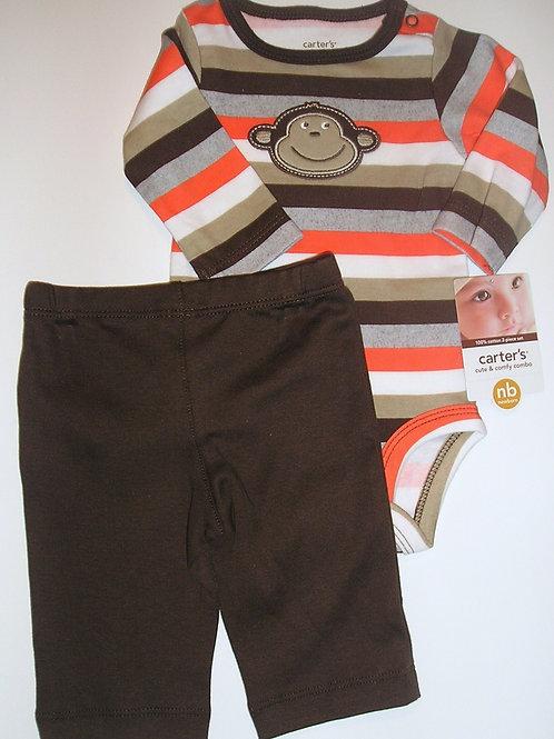 Carters orange/brown size N