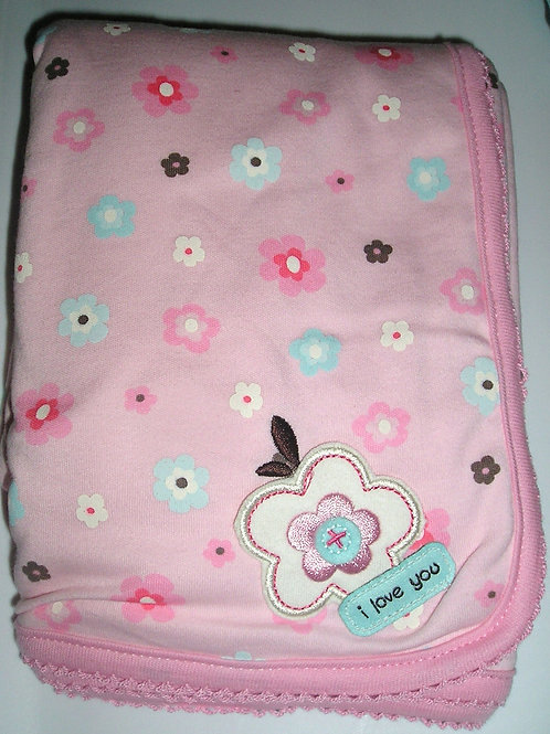 Just One Year blanket floral