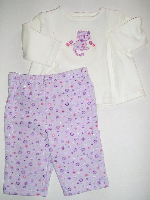 Gerber white/purple 0-3