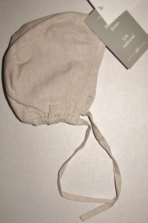 H & M linen bonnet size LP