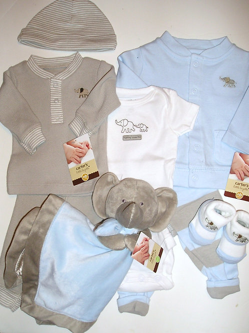 Carters tan/blue size N