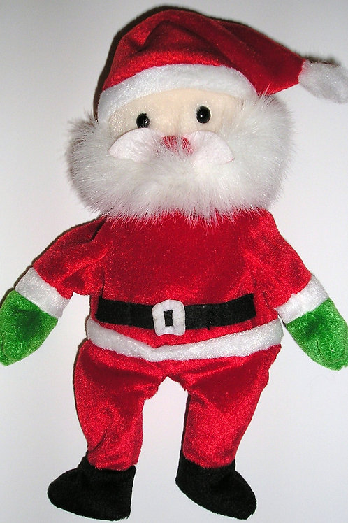 TY Beanie Baby Santa used 7 inches