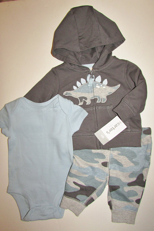 Carters 3 pc blue size N