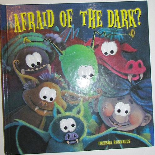 Afraid of the Dark? googly eyed book