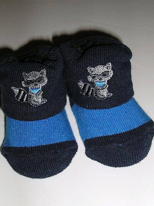 Osh Kosh socks navy/raccoon size N