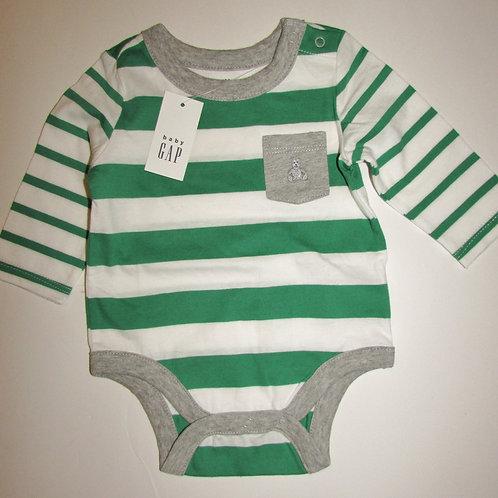 Baby Gap gn/stripe size 0-3 mo