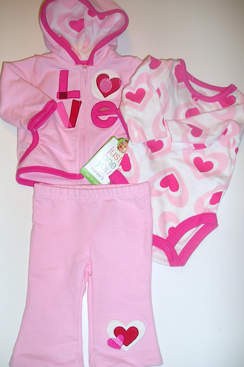 Just one You pink/hearts size N
