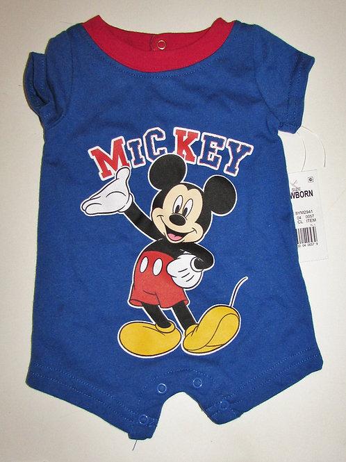 Disney Mickey creeper blue  size N