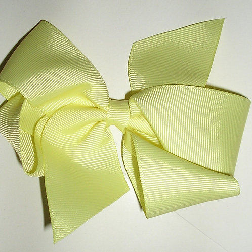 Faded Glory barrette bow yellow
