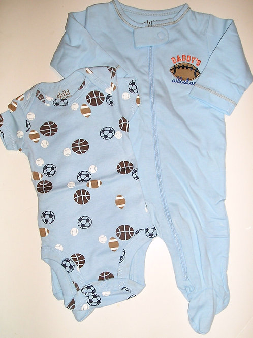 Child of Mine 2 pc set blue/sport Newborn