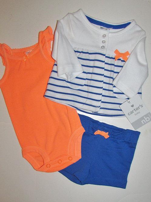 Carters blue/orange size N