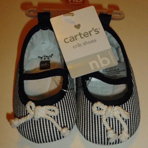 Carters black/stripes size N