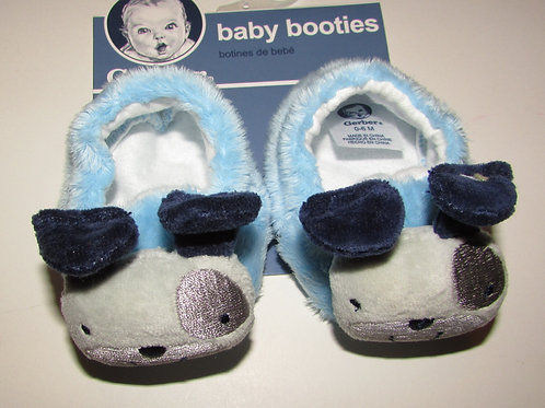 Gerber slippers dog size 0-6 mo