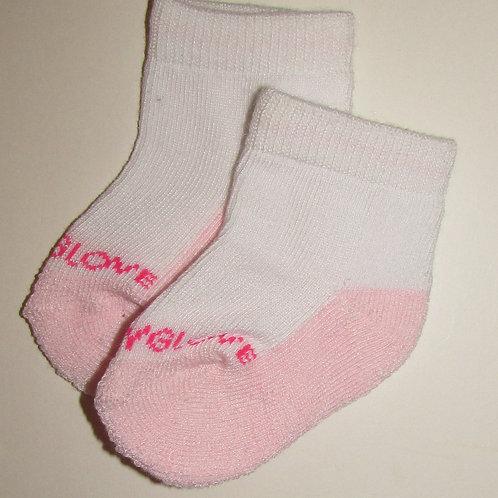Body Glove socks pink size 0-6 mo