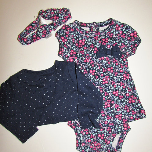 Child of Mine navy/floral size N