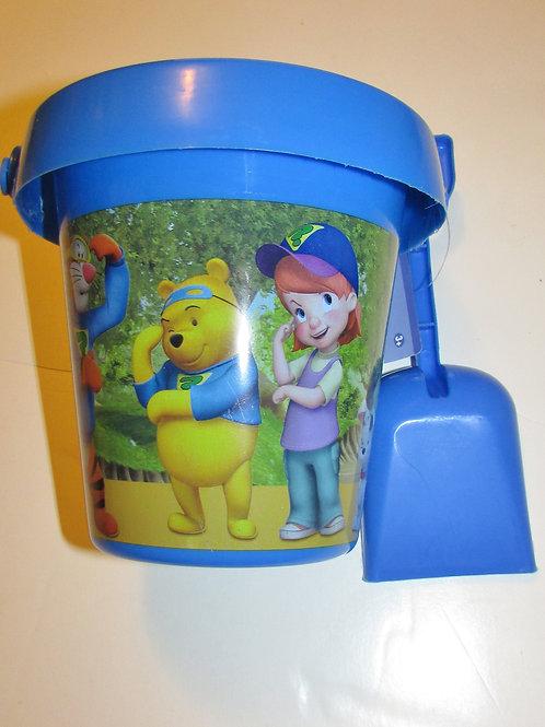 Disney bucket set blue Winnie the Pooh