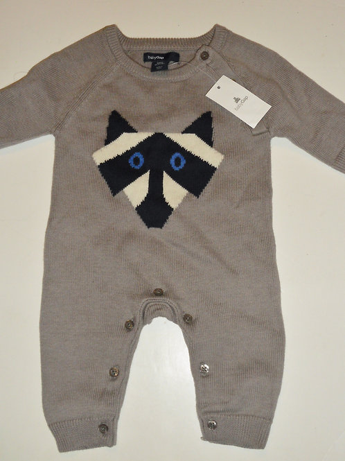 Baby Gap gray/coon size  N