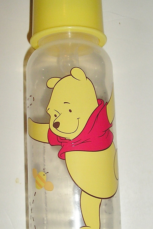 Disney bottle yellow/bees/dancing Pooh