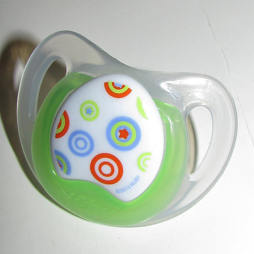 Nuby pacifier choose style 0-6 mo