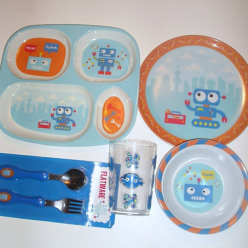 Devrian Global 5 pc dinnerware set choose style