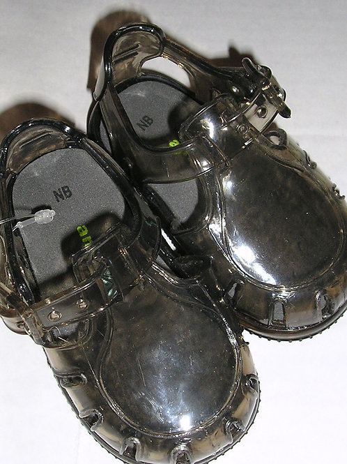Amy Coe jellies sandals gray size N