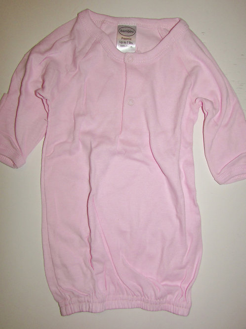 Bambini gown pink size LP