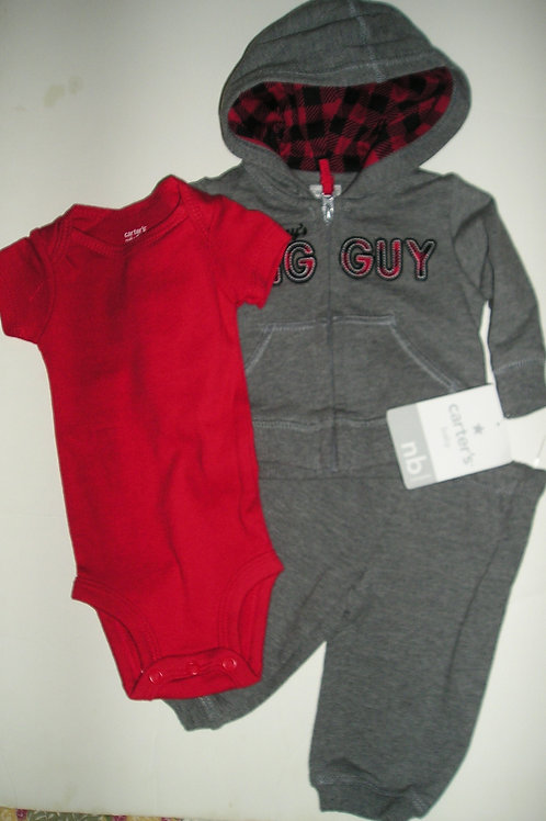 Carters gray/red size N