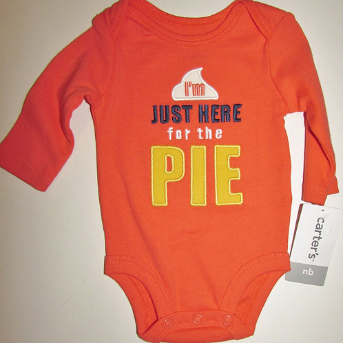Carters  orange/pie size N