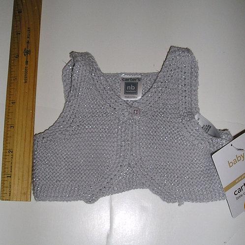 Carters gray/sparkle Newborn