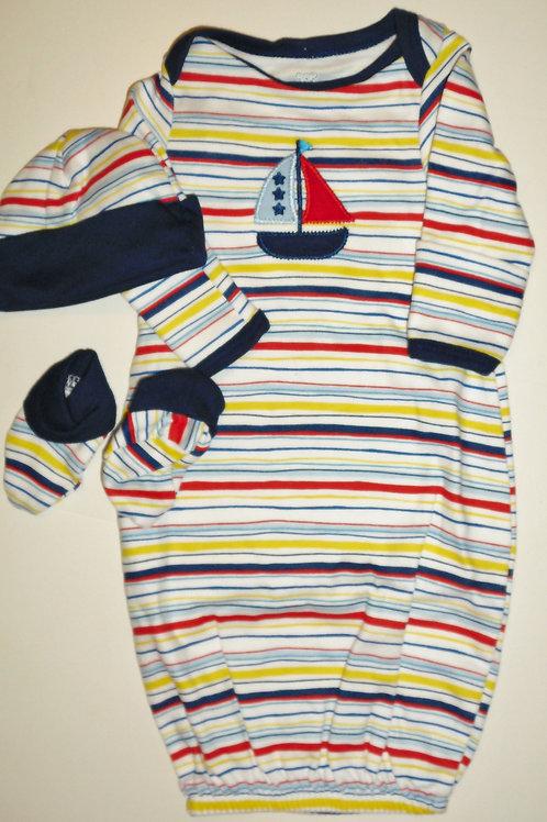 Babies R Us 3 pc Sailboat set size P