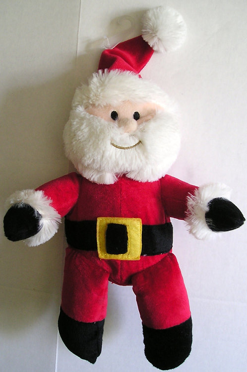 Wishes N Kisses plush Santa doll 12 inches