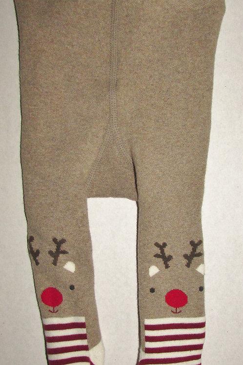 H & M tights brown/deer sikze 0-3 mo