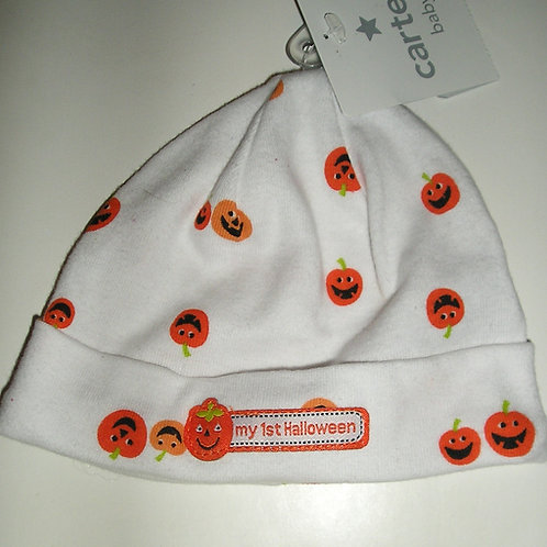 Carters hat pumpkins size 3-9 mo