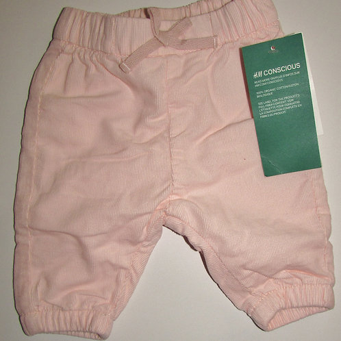 H&M lined pants pink size SN