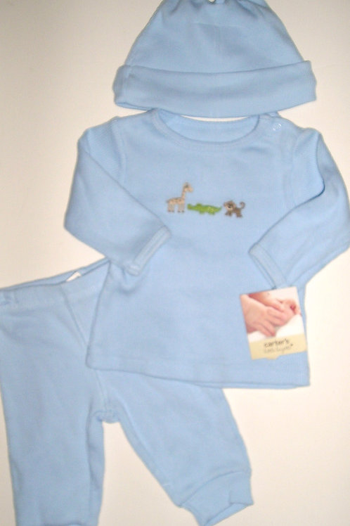 Carters blue/zoo size N