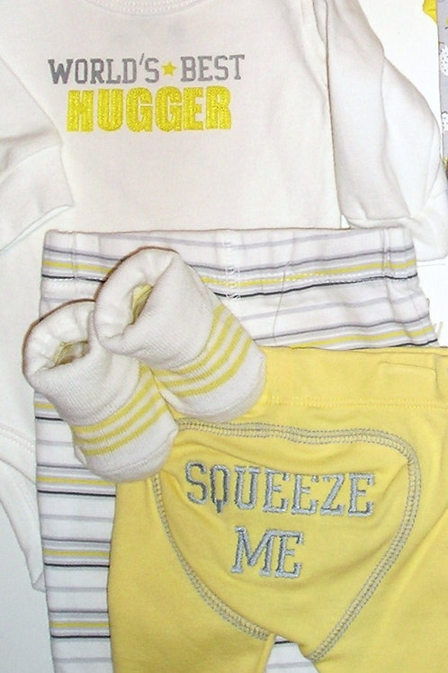 Baby B'Gosh yellow set size N