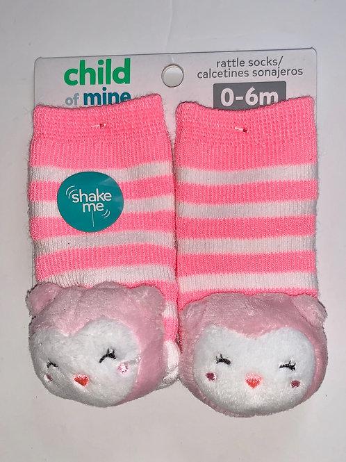Child of Mine rattle socks size 0-6 mo